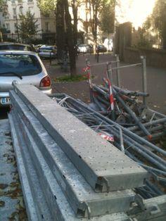 So much scaffolding!