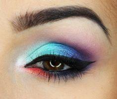 Daria Kłosowicz beauty blog: Blue and Orange