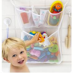 Home Storage & Organization Storage Bags Frugal Foldable Portable Beach Storage Bag Children Bathroom Livingroom Toy Baskets Mesh Storage Bag Travel Hook Storage Bag Organizer