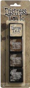 Distress ink 3, Antique Linen, Vintage Photo, Walnut Stain, Black Soot