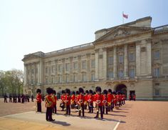Buckingham Palace in London, Greater London