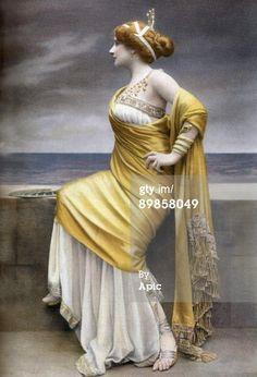 News Photo: Scottish opera singer Mary Garden as Chrysis in…