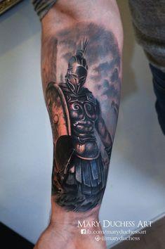 Imagen relacionada Neue Tattoos, Body Art Tattoos, Cool Tattoos, 3d Tattoos, Warrior Tattoos, Viking Tattoos, Tattoo Sleeve Designs, Sleeve Tattoos, Tattoo Guerreiro