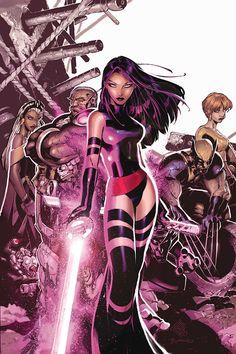 Uncanny X-Men #467 Cover by Chris Bachalo