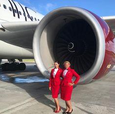 【イギリス】ヴァージン・アトランティック航空 客室乗務員 / Virgin Atlantic Airways cabin crew【UK】 Grace Perry, Virgin Atlantic, Cabin Crew, Aircraft, Photo And Video, Instagram, Aviation, Planes, Airplane