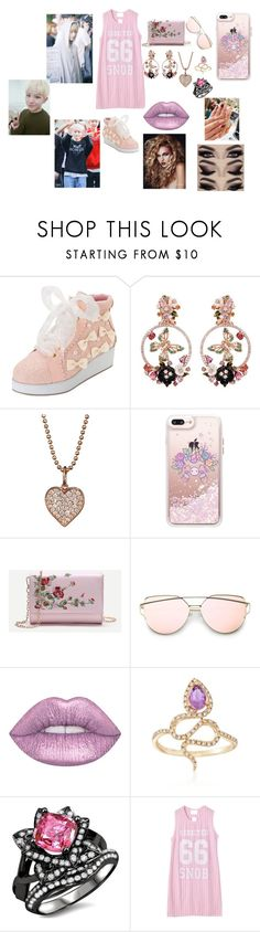 """Seventeen Woozi"" by btsloveforlife on Polyvore featuring Anabela Chan, Sydney Evan, Casetify, Lime Crime, Ross-Simons and Chicnova Fashion"