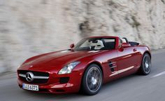 2012 Mercedes Benz SLS AMG Roadster