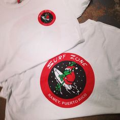 Get into the Christmas spirit with the Surf Zone Christmas t-shirt! Don't be a Scrooge! Great gift idea!
