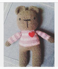 9 Me gusta, 1 comentarios - Pata de lana 🐾 (@pata_de_lana_crochet) en Instagram Lana, Teddy Bear, Toys, Animals, Instagram, Tejidos, Activity Toys, Animales, Animaux