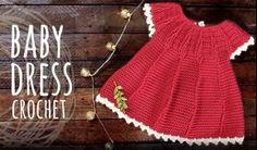 How To Crochet Baby Dress