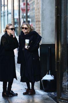 MARY-KATE + ASHLEY OUTSIDE THE ROW F/W 2014 PRESENTATION - Olsens Anonymous