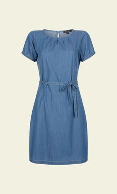 King Louie - Billie Dress Chambray blue jeans denim dress jurk spijkerstof blauw