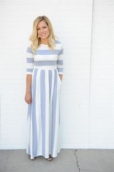 This Perfect Maxi is perfect to wear all year long! Modest and stylish. Half…