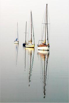 new ideas for wooden boats art water Sail Away, Wooden Boats, Water Crafts, Belle Photo, Painting Inspiration, Sailing Ships, Sailing Boat, Sailboat Racing, Nautical