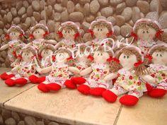 Boneca Mini  Moranguinho