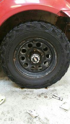 Wheels before