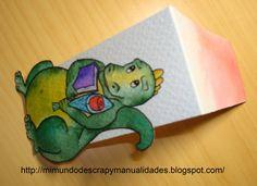 Punto de libro para Sant Jordi con imán - Bookmark with magnet