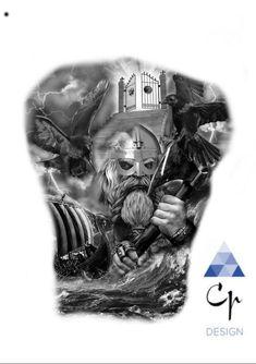 Viking tattoo full back - viking tattoo - . - Viking tattoo full back – viking tattoo – of - Viking Tattoo Sleeve, Norse Tattoo, Tattoo On, Thai Tattoo, Maori Tattoos, Kunst Tattoos, Skull Tattoos, Sleeve Tattoos, Art Viking