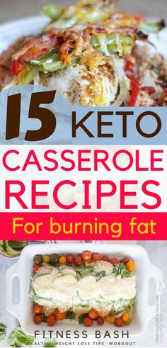 Low carb keto casserole recipes for easy dinner. You can take it as keto dinner or keto lunch. Ideal for a ketogenic diet
