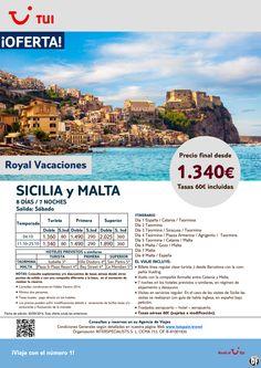 Sicilia y Malta. 8 días/7 noches. Sábados de Octubre. Precio final desde 1.340€ ultimo minuto - http://zocotours.com/sicilia-y-malta-8-dias7-noches-sabados-de-octubre-precio-final-desde-1-340e-ultimo-minuto/