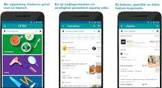 Google Areo   Yemek siparişi ve ev hizmetleri güçlü gelir elde edilen bir ekonomik pazar.12 Nisan'da Google Play Store üzerinden hizme...