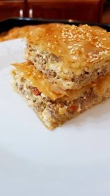 ΜΑΓΕΙΡΙΚΗ ΚΑΙ ΣΥΝΤΑΓΕΣ 2: Κιμαδόπιτα !!!! Greek Recipes, Desert Recipes, Easy Cooking, Cooking Time, Food N, Food And Drink, Cookbook Recipes, Cooking Recipes, Pizza Tarts