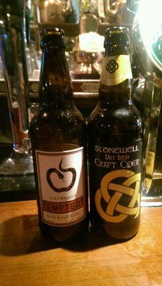 at Ma Murphy's, Bantry. Stonewell cider, Irish craft cider