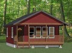 20x32 Tiny House -- #20X32H4C -- 640 sq ft - Excellent Floor Plans