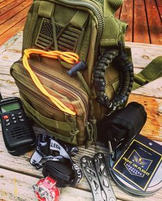 Heading out on a sunset kayak trip with my Fight or Flight Tactical Sling bag packed with survival essentials.  Let is help you get prepared free bug out bag guides! #gethomebag #shtf #prepper