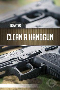 How To Clean A Gun | Cleaning Tips & Tricks by Gun Carrier at http://guncarrier.com/how-to-clean-a-gun-cleaning-tips-tricks