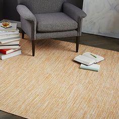 for kitchen? 4x6 on sale for $63 Melange Flatweave Cotton Rug - Mandarin
