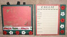 #papercraft #scrapbook #minialbum: Dog Album - Page 14-15 (made by Stephanie Hackney/PaperCrafter's Corner)