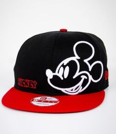 d3bafaca5fa New Era Neon Mickey Mouse Snapback Hat it looks so cool I want this bad