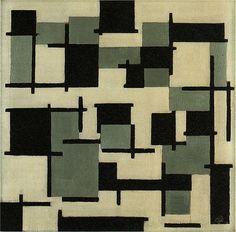 Compositie XIII, Theo van Doesburg, 1918