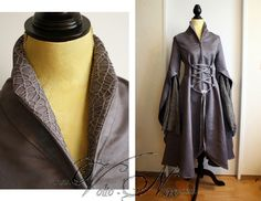 Arwen Riding Coat - The Lord of The Rings chase outfit elven dress cosplay costume gown