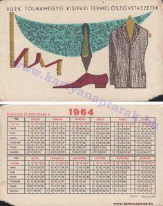 1964 - 1964_0159 - Régi magyar kártyanaptárak Pocket Calendar, Tapestry, Retro, Collection, Pockets, Pocket Diary, Hanging Tapestry, Tapestries, Retro Illustration