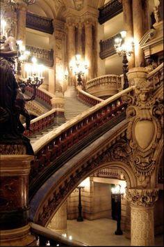 Grand Staircase, Paris Opera House