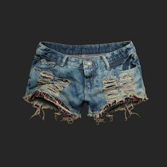 Ripped Up Shorts | Fashion » Ripped Short Shorts Hit or Miss ?