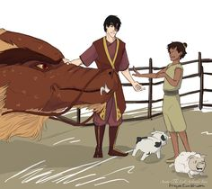 """""""My dearest wish is that Zuko someday reunited with this kid. Headcanon: Druk took a liking to Lee and he became the Royal Dragon Keeper. Avatar The Last Airbender Funny, The Last Avatar, Avatar Funny, Avatar Airbender, Avatar Zuko, Team Avatar, Fanfiction, Prince Zuko, Fanart"""