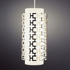 Jonathan Adler Parker Pendant.....very contemporary....perfect lighting for a stainless steel kitchen.....