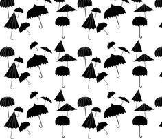 umbrella large custom fabric by trizzuto for sale on Spoonflower Drawing Wallpaper, Cricut Creations, Shoulder Tattoo, Custom Fabric, Spoonflower, Craft Projects, Balloons, Quilts, Drawings