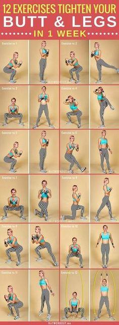 All Squats - Butt & leg workout