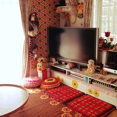 chiroruさんの、100均,手作り,リメイク,ハンドメイド,雑貨,アンティーク,コレクション,昭和レトロ,部屋全体,のお部屋写真