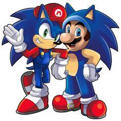 Resultado de imagen para Mario y Sonic