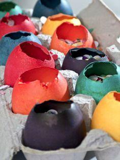 Cascarone Confetti Eggs --> http://www.hgtv.com/handmade/how-to-make-festive-cascarone-confetti-eggs/index.html?soc=pinterest