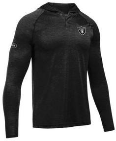 Under Armour Men's Oakland Raiders Tech Hoodie - Black