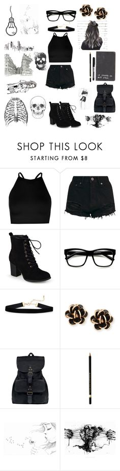 """Sketched"" by music-geek101 ❤ liked on Polyvore featuring Boohoo, Journee Collection, Chantecler, Mahi and Chictopia"