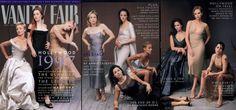 1997  From left: Cameron Diaz, Kate Winslet, Claire Danes, Renée Zellweger, Minnie Driver (reclining), Alison Elliott, Jada Pinkett, Jennifer Lopez, Charlize Theron, and Fairuza Balk.