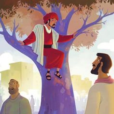 The Week of Sunday, March 17: Zacchaeus, on Sunday School Zone