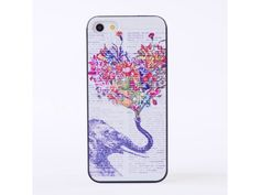 Plastový kryt (obal) pre Iphone 5C - sloník